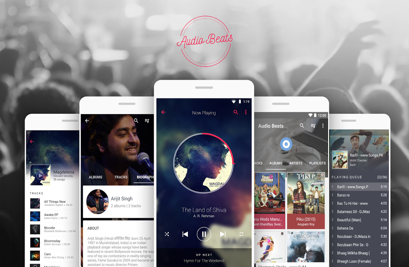 Audio Beats : Stylish Media Player Premium