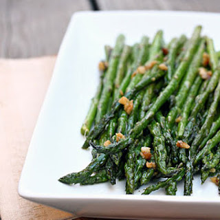 Sauteed Garlic Asparagus