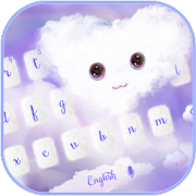 Fluffy Love Cloud Theme for Keyboard