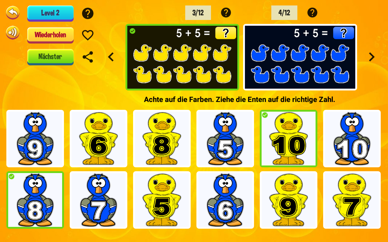 Playful learning math- screenshot