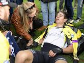 🎥 Exténué, Wout Van Aert ne peut aller au bout de l'interview
