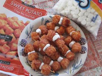 Sweet Potato Puff Appetizers
