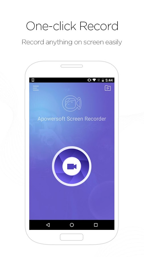 Apowersoft Screen Recorder- screenshot