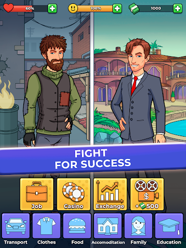 Hobo Life: Business Simulator & Money Clicker Game apkdebit screenshots 5