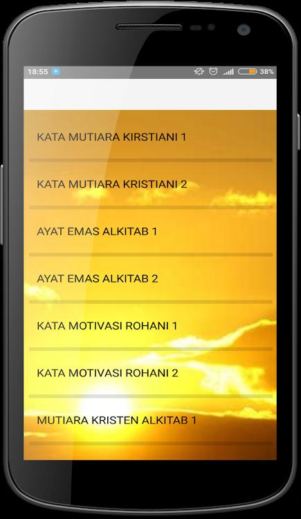 Kata Mutiara Bijak Alkitab Android Aplicaciones Appagg