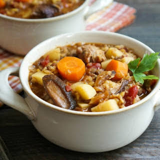 Spicy Fall Sausage Lentil Stew.