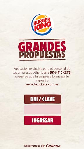 BK® Tickets