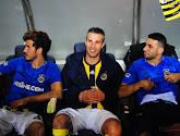 De spelers van Fenerbahçe komen met de schrik vrij nadat hun vliegtuig een noodlanding moest maken
