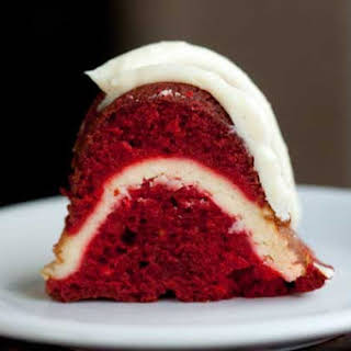 Red Velvet Cream Cheese Bundt Cake.