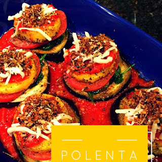 Polenta Eggplant Stacks