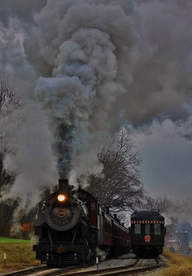 Take a Ride  by Anna Tripodi - Transportation Trains ( cool, lancaster pa, old, train, fun, straugsbury,  )