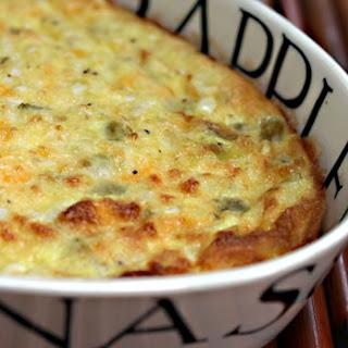Corn, Green Chile, Egg and Cheese Casserole Recipe