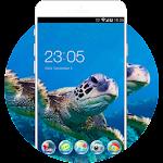 Sea Turtle Live HD Wallpaper Animal Theme Icon