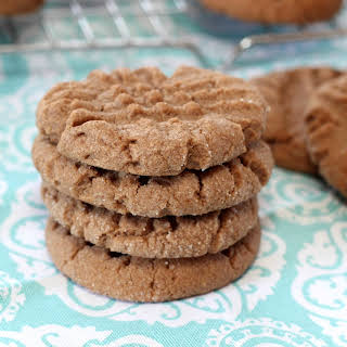 Chocolate Peanut Butter Cookies.