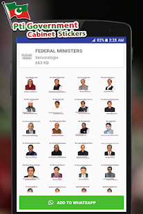 Download PTI Government Cabinet Stickers For PC Windows and Mac apk screenshot 3