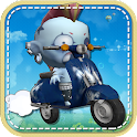 Zombie Bike Racing Fun icon