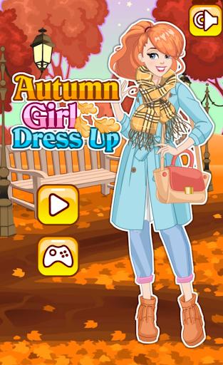 Princess Autumn Girl Dress Up