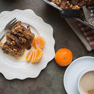 Cinnamon Roll French Toast Breakfast Bake