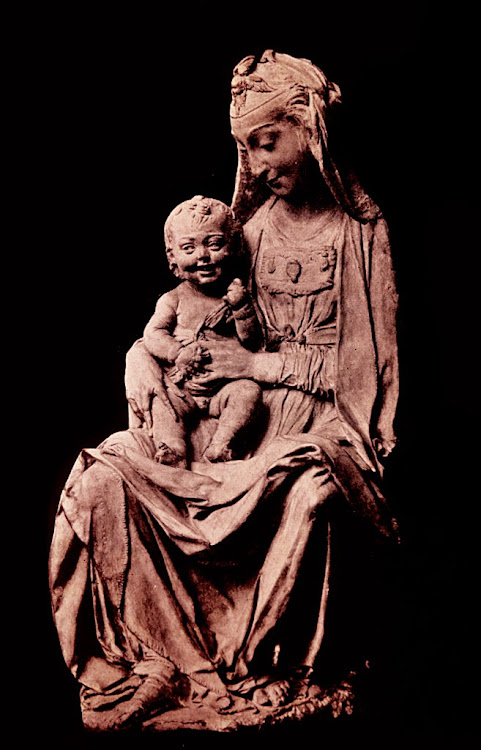 The Virgin with the Laughing Child.