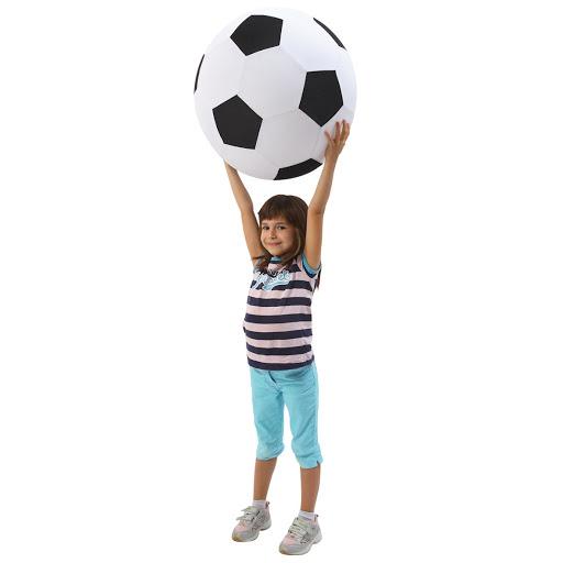 Giant Inflatable Football - Fleece Covered