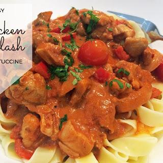Easy Chicken Goulash