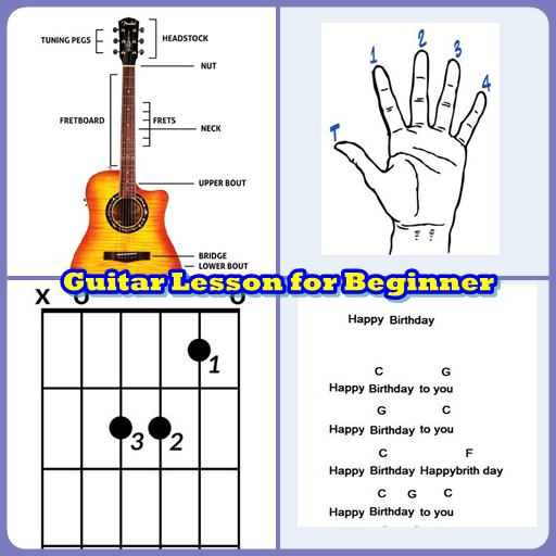Learning Guitar Chord for Beginner file APK for Gaming PC/PS3/PS4 Smart TV