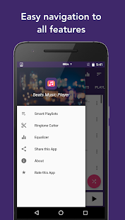 Tune Music Player : MP3 Player and Ringtone Cutter Screenshot