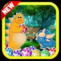 Dinosaur Rescue Pop : New Bubble Shooter Eggs 2020 icon