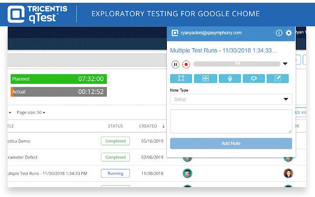 qTest Web Explorer