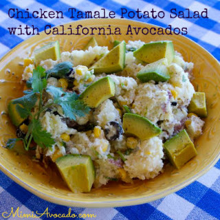 Chicken Tamale Potato Salad with California Avocados