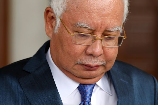 What Malaysia's former prime minister spent in one day on his credit cards