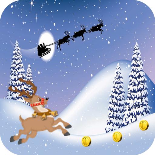 Run Games Reindeer Christmas
