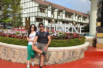 Photo: Outside Brinchang's most famous hotel