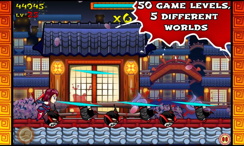 Скриншот Ninja Slash! Runner