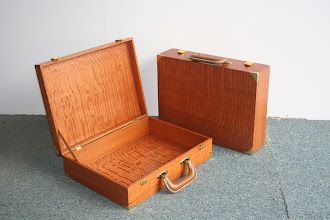 Photo: Briefcases - Silky Oak Doug Wait  Nov 2011