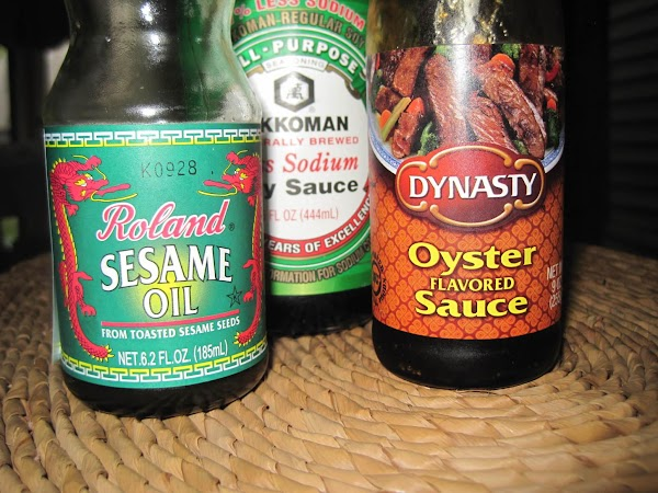 Prepare the stir fry sauce. In medium size bowl combine all sauce ingredients and...