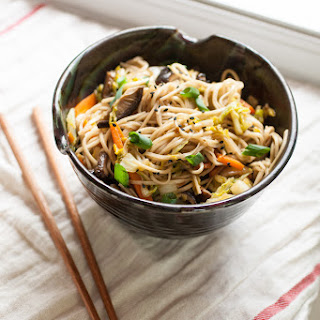 Low Calorie Vegetable Chow Mein Recipes