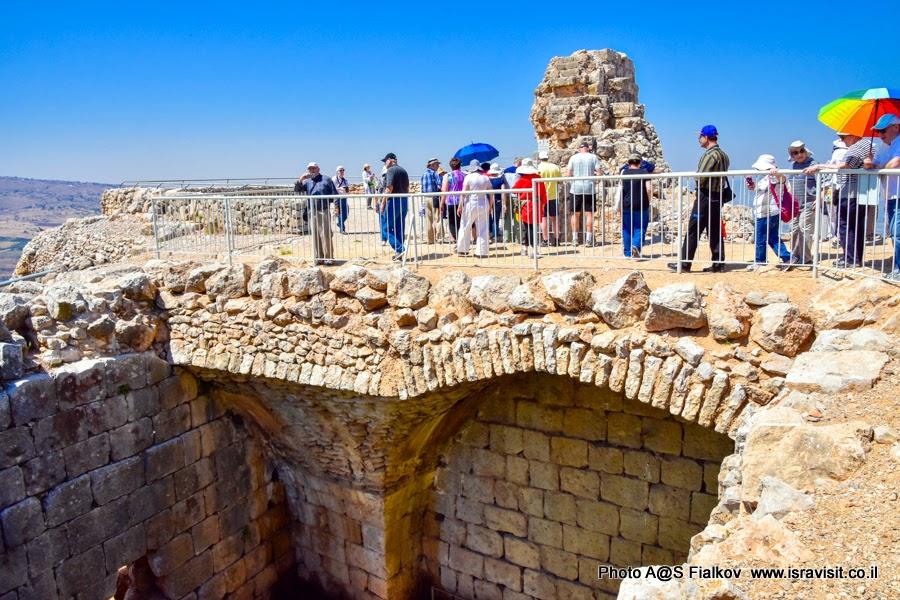 Экскурсия в крепости Нимрод. Север Израиля. Верхняя Галилея.
