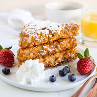 Cornflake Crusted French Toast.