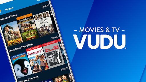 vudu - rent, buy or watch movies with no fee! screenshot 1