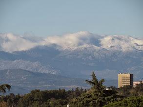 Photo: Cerros nevados.  Hacía MUCHO frío esos días.  Y seguro que empioró.