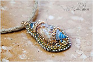 Photo: Pendant with Snail Shell - Кулон з морським равликом