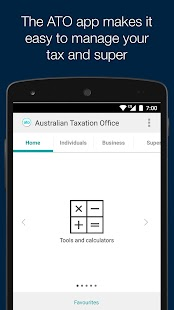 Australian Taxation Office- screenshot thumbnail