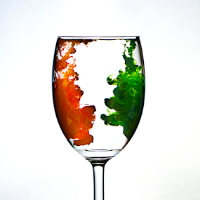Happy Independence by Abhishek Parashar - Artistic Objects Glass ( flag, glass, independence, india )