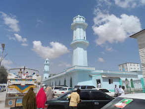 Photo: One of the main mosques in Hargeisa