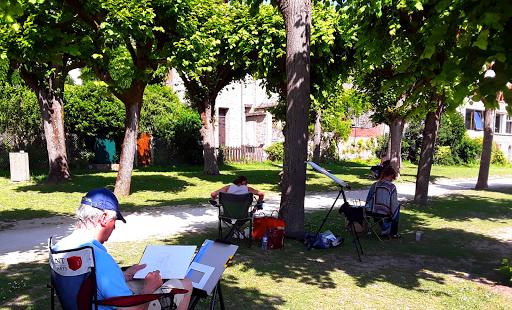 cours aquarelle_ Jeanne PAPA_ école d'Art Camille Varlet_ fontainevleau Moret sur Loing, Seine et Marne