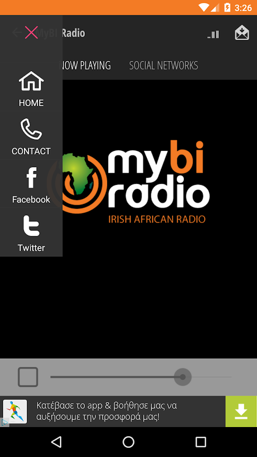 MyBI Radio- screenshot
