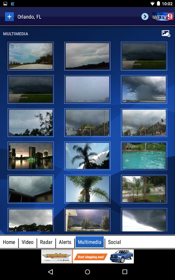 WFTV Channel 9 Weather- screenshot