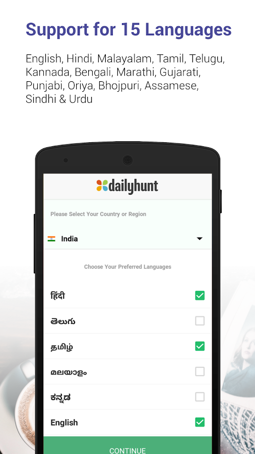 Dailyhunt (Newshunt) News- screenshot