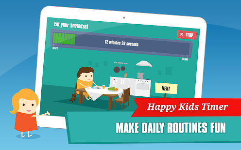 Happy Kids Timer - Morning- screenshot thumbnail